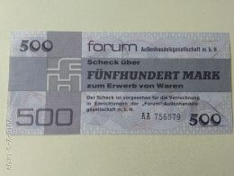 500 Marki 1979 - [ 6] 1949-1990 : RDA - Rep. Dem. Alemana
