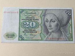 20 Marki 1980 - [ 7] 1949-… : FRG - Fed. Rep. Of Germany