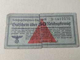 50 Pfenning Campi Concentramento - Germania