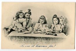 CPA   Enfants ( Bonne Fete ) - Groupes D'enfants & Familles