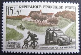 Lot FD/802 - 1958 - JOURNEE DU TIMBRE - DISTRIBUTION POSTALE MOTORISEE - N°1151 NEUF** - Unused Stamps