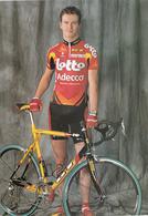 CYCLISME   LEF VERBRUGGHE  (LOTTO ADECCO) - Cyclisme
