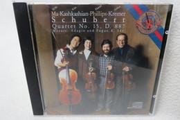 "CD ""Ma-Kashkashian-Phillips-Kremer"" Schubert Quartet No. 15, D. 887, Mozart: Adagio Und Fugue. K. 546 - Classical"