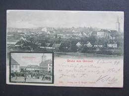 AK GMÜND 1899 // D*29834 - Gmünd