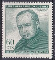 Chile 1965 Persönlichkeiten Religion Priester Rektor Principal Bildung Education Universität University, Mi. 628 ** - Chile