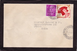Brief In Die Schweiz (br3015) - 1951-60 Briefe U. Dokumente