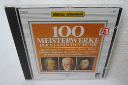 """CD """"100 Meisterwerke Der Klassischen Musik"""" CD 1 - Klassik"""