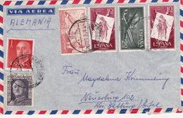 Brief Nach Deutschland (br3017) - 1951-60 Briefe U. Dokumente
