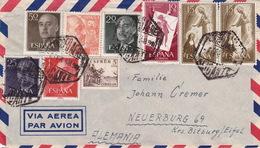 Brief Von Alicante Nach Deutschland (br3019) - 1951-60 Briefe U. Dokumente