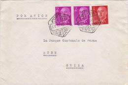 Brief Von Malaga In Die Schweiz (br3020) - 1951-60 Briefe U. Dokumente