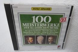 """CD """"100 Meisterwerke Der Klassischen Musik"""" CD 3 - Klassik"""