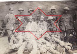 Photo 14-18 BRAINE (Braisne) - Prisonniers Français Et Anglais (A187, Ww1, Wk 1) - Guerre 1914-18