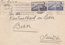 Brief Von Madrid In Die Schweiz (br3024) - 1951-60 Briefe U. Dokumente