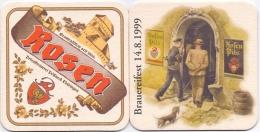 #D194-039 Viltje Rosenbräu Pössneck - Portavasos