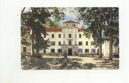 04/CPSM - Gréoux Les Bains - Le Grand Hotel Et L'Etablissement Thermal - Gréoux-les-Bains
