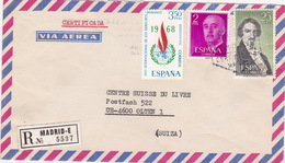 Brief In Die Schweiz (br3027) - 1931-Heute: 2. Rep. - ... Juan Carlos I