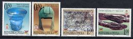 BOSNIAN SERB REPUBLIC 2002 Museum Exhibits MNH / **.  Michel 251-54 - Bosnia And Herzegovina
