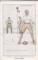 """MILITARIA---"""" His Majesty's Boys """"--loisirs Anglais--( Rugby Militaire )-( 2 Déchirures + Coin Plié  )--voir 2 Scans - Humoristiques"""