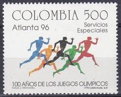 Kolumbien Colombia 1996 Sport Spiele Olympia Olympics Atlanta Leichtathletik Athletics Läufer Runner, Mi. 2015 ** - Kolumbien