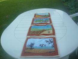 Petits Tableaux Représentant Les 4 Saisons - Fait En Patchwork - Creative Hobbies