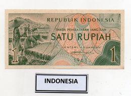 Indonesia - 1961 - Banconota Da 1 Rupia - Nuova - (FDC8067) - Indonesia