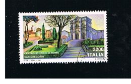 ITALIA REPUBBLICA  - SASS. 1961     -      1991  SAN GREGORIO, ROMA   -      USATO - 6. 1946-.. Repubblica
