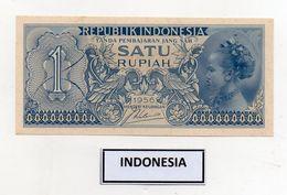 Indonesia - 1956 - Banconota Da 1 Rupia - Nuova - (FDC8068) - Indonesia