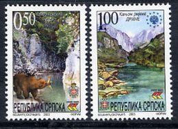BOSNIAN SERB REPUBLIC 2003 Nature Protection MNH / **.  Michel 283-84 - Bosnia And Herzegovina