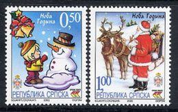 BOSNIAN SERB REPUBLIC 2003 New Year MNH / **.  Michel 289-90 - Bosnia And Herzegovina