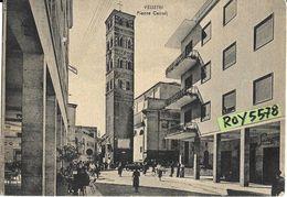 Lazio-velletri Piazza Cairoli Particolare Bella Animata Differente Veduta Piazza Anni 50 - Velletri