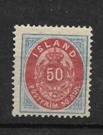 1892 MH Island  Perf 14 X 13 12/2 - Neufs