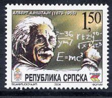 BOSNIAN SERB REPUBLIC 2004 Einstein Anniversary MNH / **.  Michel 297 - Bosnia And Herzegovina