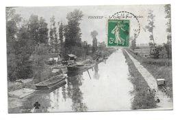 VINNEUF - Le Canal - Le Pont Morlaix - France