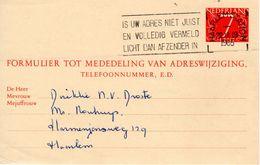 Vhk  G30    Van Haarlem Met Particuliere Bedrukking - Postal Stationery