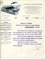 77.SEINE & MARNE.ESBLY.POMPES POUR MINES.POMPES A VIDE.J.EDELMANN & Cie INSTALLATIONS D'USINES ELEVATOIRES. - France