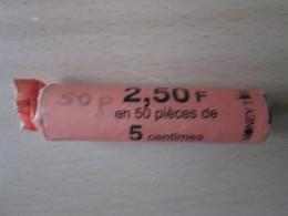 Rouleaux De Pieces De 5cts - France