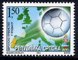BOSNIAN SERB REPUBLIC 2004 European Football MNH / **.  Michel 304 - Bosnia And Herzegovina