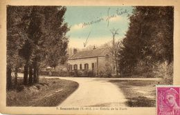 CPA - SENONCHES (71) - Aspect De La Maison Forestière à L'entrée De La Forêt Dans Les Années 30 - France