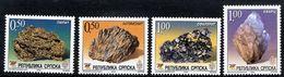 BOSNIAN SERB REPUBLIC 2004 Minerals MNH / **.  Michel 311-14 - Bosnia And Herzegovina