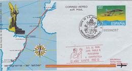 Visita De S.S. Juan Pablo II A Santiago De Compostela 1982 (br3041) - Papas