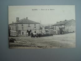 CPA 87640  Razès  RAZES - Place De La Mairie Frais De Port Compris - France