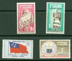 Samoa: 1962   Independence Set  SG239-248    MNH - Samoa