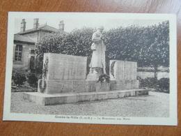 COMBS-la-VILLE  Le Monument Aux Morts  77 Seine Et Marne - Andere Gemeenten