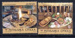 BOSNIAN SERB REPUBLIC 2005 Europa: Gastronomy MNH / **.  Michel 327-28 - Bosnia And Herzegovina