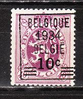 376**  Lion Héraldique Avec Préoblitération - Bonne Valeur - MNH** - COB 90 - LOOK!!!! - Unused Stamps