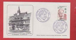 Enveloppe Premier Jour  / Maison Natale Du Docteur Schweitzer / Kaysersberg  / 11 Janvier 1975 - 1970-1979
