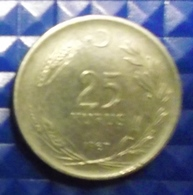 @Y@  Turkije  25  Kurus   1967  (2922) - Turquie