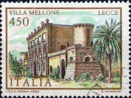 VARIETA 1984 - VILLE D'ITALIA - COLORI FUORI REGISTRO - 6. 1946-.. Repubblica