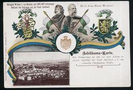 AK/CP LITHO  ADEL  WETTINER  WETTIN  AUERBACH   Wilhelm I    Ungel/uncirc. Um  1902  Erhaltung/Cond.  2 / 2-  Nr. 00230 - Auerbach (Vogtland)