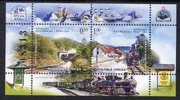 BOSNIAN SERB REPUBLIC 2005 Visegrad-Mokra Railway MNH / **.  Michel Block 14 - Trains